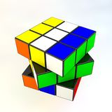 Rubik's in motion Stock Photography