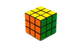 Rubik s sześcian zdjęcie royalty free