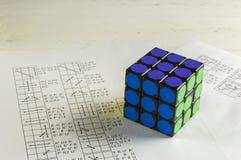 Rubik ` s sześcian Fotografia Stock
