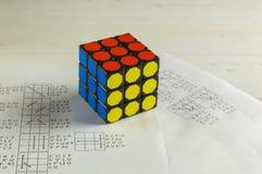 Rubik ` s sześcian Fotografia Royalty Free