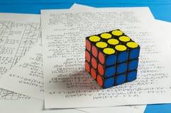 Rubik ` s sześcian Zdjęcie Stock