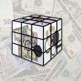 Rubik Sammeln stockbilder