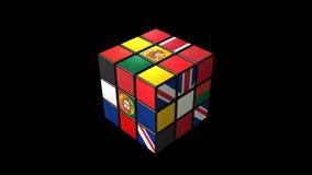 rubik UK I P royaltyfri illustrationer