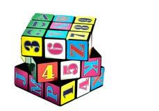 Rubik Würfel Lizenzfreie Stockfotos