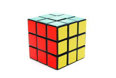 Rubiks kub Royaltyfria Foton