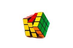 Rubiks kubus stock afbeelding
