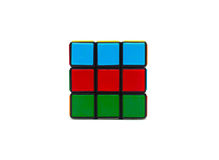 Rubiks kubus Royalty-vrije Stock Foto