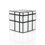Rubiks mirror blocks Royalty Free Stock Image