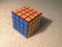 Rubiks-Rache Lizenzfreie Stockfotos