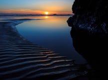 Rubin plaża, stan washington zdjęcia royalty free