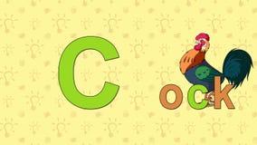 rubinetto Alfabeto inglese dello ZOO - lettera C royalty illustrazione gratis