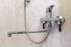 Rubinetto della doccia Immagine Stock