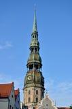 Rubinetto vecchia Riga della torretta Fotografia Stock Libera da Diritti