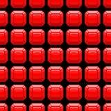 Rubinowy bezszwowy wzór górniczego moonstone cenni kamienie Wektorowy czerwony tło Obrazy Royalty Free