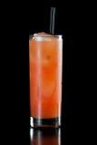 Rubinowy czerwonego winogrona owocowy sok zdjęcia royalty free