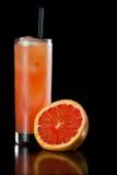 Rubinowy czerwonego winogrona owocowy sok Zdjęcie Stock