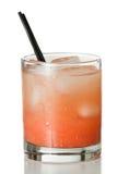 Rubinowy czerwonego winogrona owocowy sok Fotografia Royalty Free