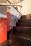 Rubinu dom - schodki, zbliżenie zdjęcia royalty free