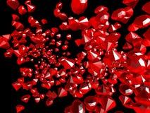 rubiny Obrazy Royalty Free