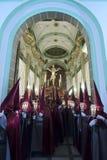Korowód Cristo Del Perdon w Rubio Zdjęcia Royalty Free