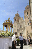 Corpus Christi w Rubio, Almeria, Hiszpania Fotografia Royalty Free