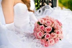 Rubio joven en alineada de boda Fotos de archivo libres de regalías