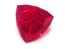 rubis de rhodolite de pierre gemme Image libre de droits