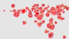 Rubis rouge Photographie stock libre de droits