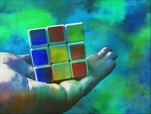 Rubix立方体 免版税库存图片