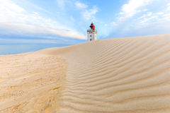 Rubjerg Knude Lighthouse Royalty Free Stock Photos