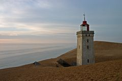 The Rubjerg Light-house royalty free stock image