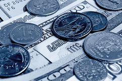 Ruble dollar сurrency speculation. Stock Photos