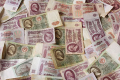 Ruble USSR money Royalty Free Stock Photography
