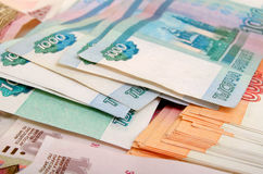 rubles Fotografia de Stock Royalty Free