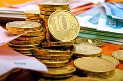 rubles Imagens de Stock
