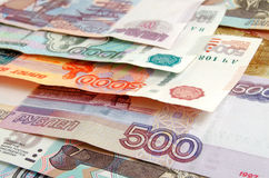 Rubles. Royalty Free Stock Photo