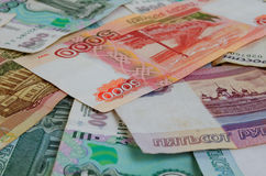 Rubles. Royalty Free Stock Photography