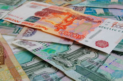 Rubles. Royalty Free Stock Images