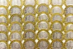 10 rubli Fotografia Stock