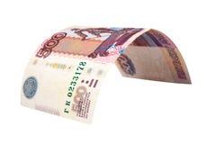 500 rubli. Fotografie Stock