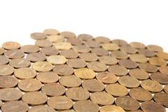 10 rubli di monete Fotografie Stock
