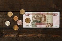 Rubli russe Fotografie Stock