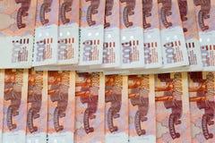 5000 rubli russe di fondo delle banconote Immagini Stock Libere da Diritti
