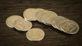 Rublo de russo Fotografia de Stock
