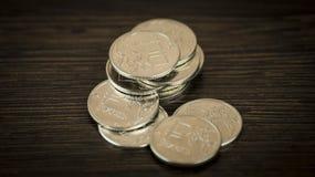 Rublo de russo Foto de Stock Royalty Free