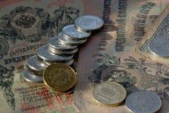 Rublo de russo Foto de Stock