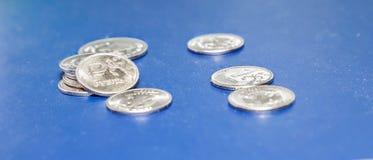 Rublo de russo do ferro Fotos de Stock