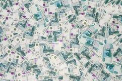 Rublo do russo Imagem de Stock Royalty Free