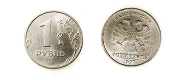 Rublo do russo Foto de Stock