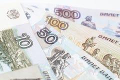 Rublo russa Fotografia Stock